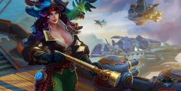 Cloud Pirates เกม MMO แฟนตาซีสงครามเรือเหาะกลางเวหา เปิด CBT3 แล้ว