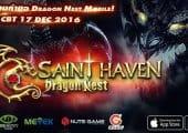 ด่วน! Dragon Nest Saint Haven เปิด CBT พร้อมกันทั่วประเทศแล้ววันนี้