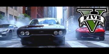 [►] (Video) เป๊ะเวอร์! ดูกันหรือยังกับตัวอย่างหนังดัง Fast 8 ฉบับเกม GTA V