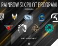 Pilot Program โครงการส่งเสริมการแข่งขัน Pro League ของ Clancy's Rainbow six Sieg